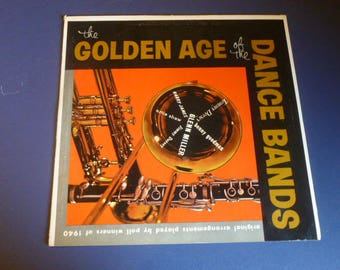 The Golden Age Of Dance Bands Vinyl Record LP SF-9500 Somerset Records 1965