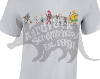 Parade!  Breath Of the Wild Fan Shirt - Robin Hood Hand Printed Parody Tee