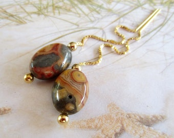Gemstone Threaders-Earthy Threaders-OOAK