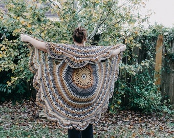 Stevie Nicks Inspired Shawl