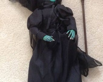 Wizard of Oz Doll Wicked Witch Present company