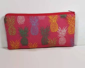 Pineapple Pencil Case/pineapple pencil organizer//Pencil case//cosmetic pouch
