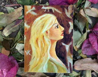 Spirit Dream ACEO Mini Art Print