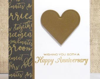 Happy Anniversary- Anniversary Card- Couple Anniversary- Wedding Anniversary- Love Card