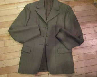 vintage pytchley fox hunt riding jacket equestrian jacket sz small