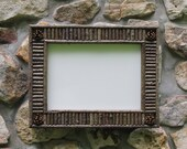 RESERVED FOR SHERYL: Pine Cone and Twig Picture Frame