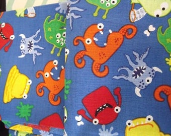 Two Monster Theme Fat Quarters