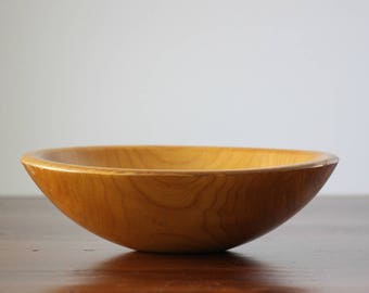 Vintage Wood Bowl, Craftwood Co. Mid Century Wood Bowl, Valet Tray, Mens Valet, Gift For Him, Serving Bowl, Made in Kittery, Maine