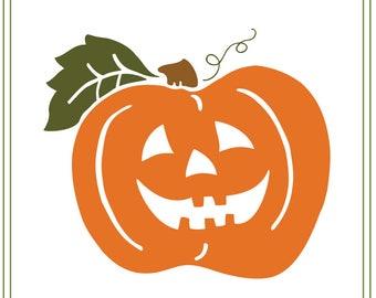 Halloween svg, Jack-o-lantern svg, pumpkin svg, vinyl cutting, paper craft, card making, svg file Halloween illustration, halloween sign