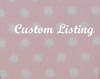 Custom listing for Nicole