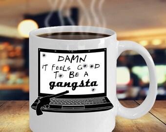 office space coffee mug. funny gangsta coffee mug office space r