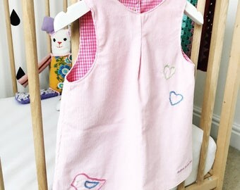 Delilah Loves You Pinafore Dress 12-18 Months