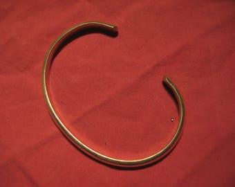 Sterling Silver cuff bracelet  15.7 grams minimal art vintage 90s