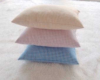NEW-Newborn Photography Props-Newborn Posing Pillow-Newborn Photo Prop-Baby Posing Pillows-Checked Pillow-Posing Pillows-Newborn Props