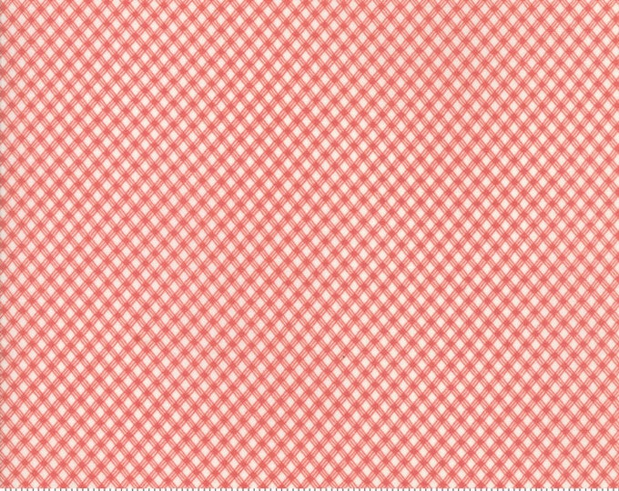 Victoria Ivory Rouge 44168 14 by 3 Sisters for moda fabrics