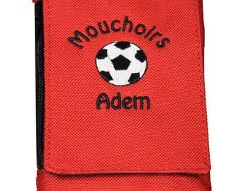 Personalized handkerchiefs case tissue cover