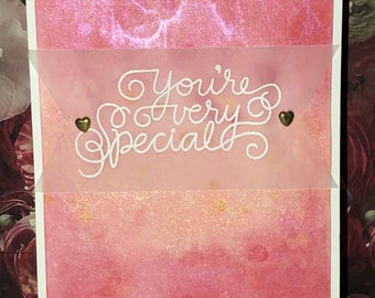 Various discounted handmade Valentine's Day/ love cards