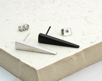 Assymetrical Arrow Stud Earrings