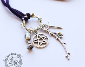 Witches Tarot Necklace