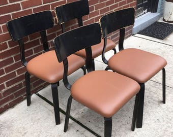 Thonet Chairs Set of 4 Mid Century Modern
