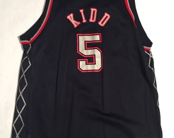 Vintage Jason Kidd New Jersey Nets Champion Jersey