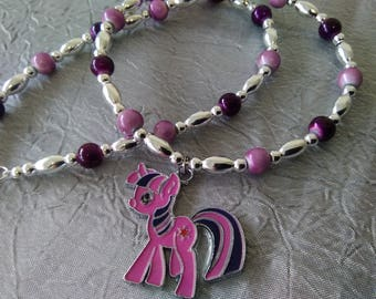 Twilight Sparkle My Little Pony Necklace