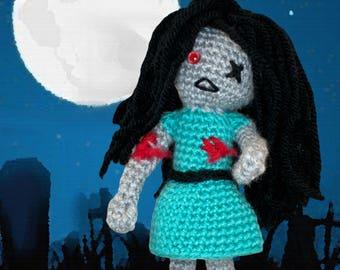 Crochet Pattern ~ Zombie Girl ~ Crochet Pattern