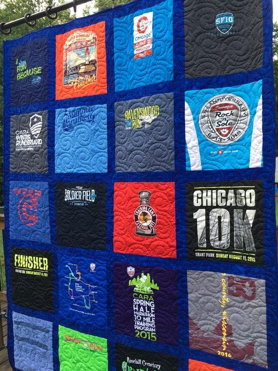 TShirt Quilts Custom T-Shirt Quilt Deposit 20 Shirts Block : custom tshirt quilts - Adamdwight.com