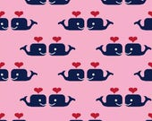 Oh Say Can You Sea - Pink Whales Love by Jack and Lulu from Dear Stella