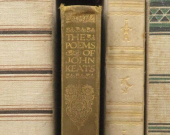 1930s poetry book The Poems of John Keats