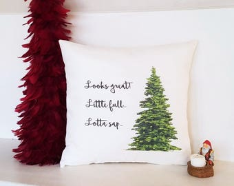 Christmas Vacation Pillow Cover, Little Full Lotta Sap, Clark Griswold Pillow, Zippered Pillow, Funny Throw Pillow, National Lampoons Gift