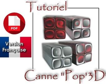 Tutoriel PDF en français : Réaliser une canne POP 3D