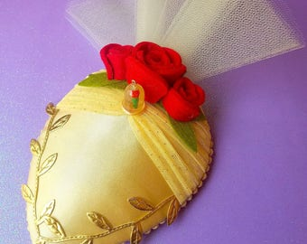 Beauty And The Beast Belle Fascinator