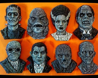 Universal Monsters magnets collection