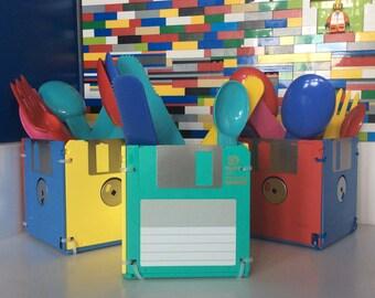 Floppy Disk Storage Cubes