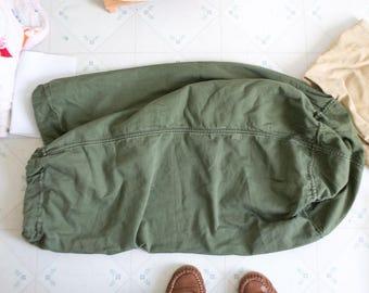 Army Green Bag Vintage Laundry Bags Laundry Bag Army Duffle Bag Military Bag