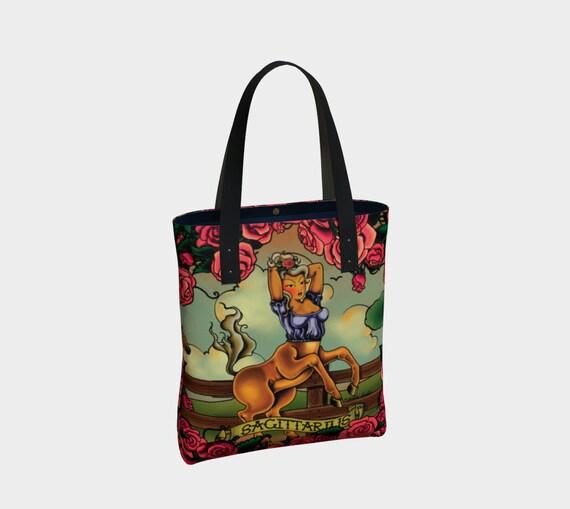 Sagittarius - Tattoo Premium Tote Bag