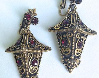 Asian Lantern Earrings Florenza