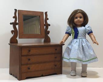 Handmade American Girl Doll Forties Dress