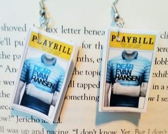 Playbill Earrings - Dear Evan Hansen