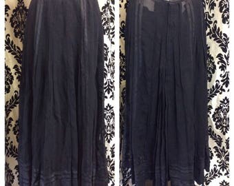 Edwardian Long Skirt with Detachable Slip