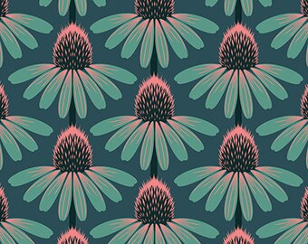 Anna Maria Horner: Floral Retrospective Yardage - Echinacea Dim