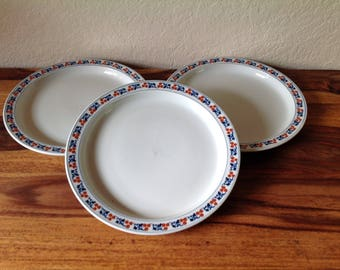 ICONIC~DANSK~Kronberg~BISTRO~Set of three Dinner Plates