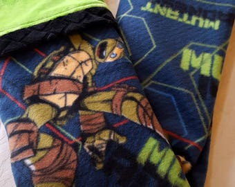 SALE!  Mutant Ninja Turtles II - Baby/Toddler Blanket