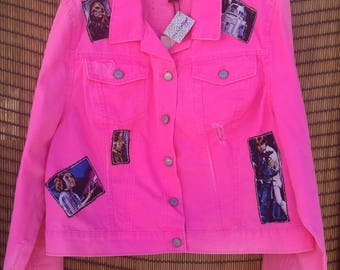 Star Wars Hot Pink Jean Jacket