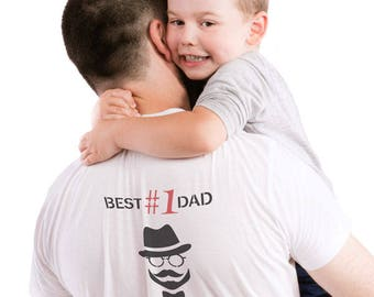 Best Dad Ever! Father's Day Stencil. Reusable stencil for creating unique gifts and Father's Day cards. Stencil T-shirts, aprons, boxes etc