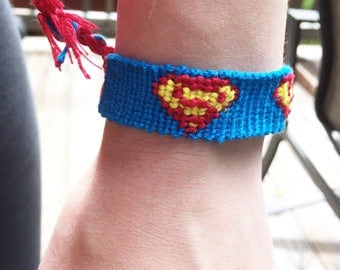 Superman Friendship Bracelet