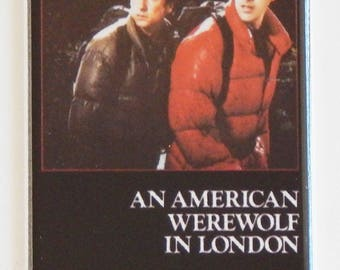 An American Werewolf in London Movie Poster Fridge Magnet (1.5 x 4.5 inches)