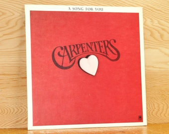 Carpenters - A Song For You - A & M Records SP-3511 - Vintage 33 1/3 LP Record - 1972