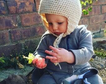 Childrens Crochet gnome hat